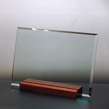 ガラスの楯 長角(L) 横置き