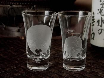 干支の酒グラス ペア
